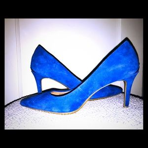 Calvin Klein royal blue heels